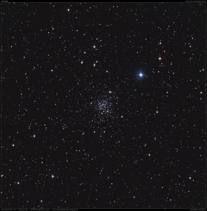 NGC 2243 in Canis Major